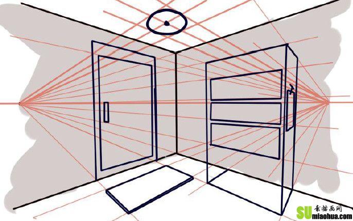 素描透视_素描画网-素描入门教程-中国素描网学习第