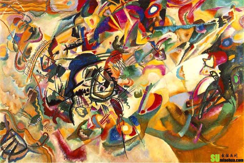 美术小百科-什么是抽象派