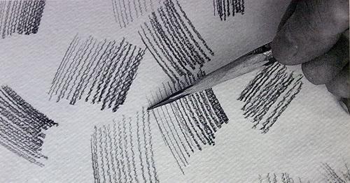 新手初学素描排线的注意点