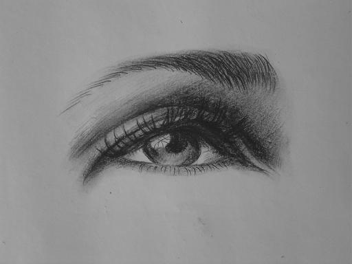 素描眼睛就这么几招