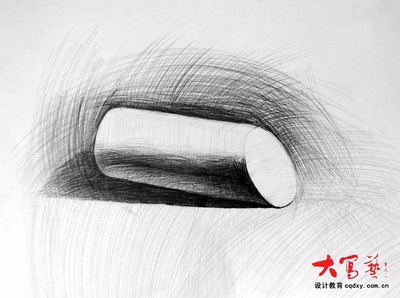 素描石膏体圆柱的了解图片