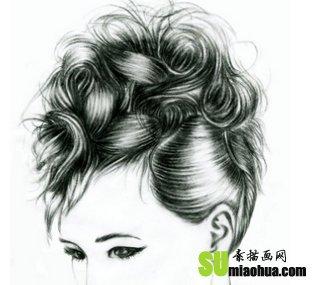 如何画好人物的头发_素描画网-素描入门教程-中国
